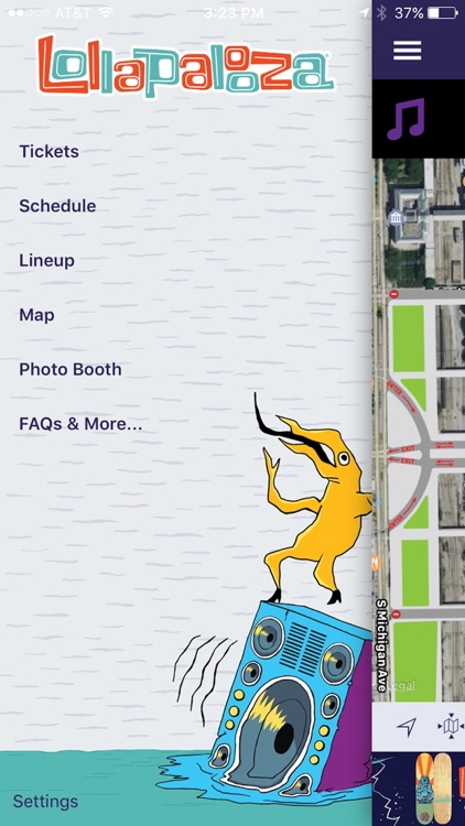 Lollapalooza Chicago Official App