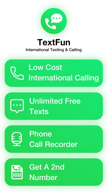 TextFun Unlimited Text  & Call screenshot-4