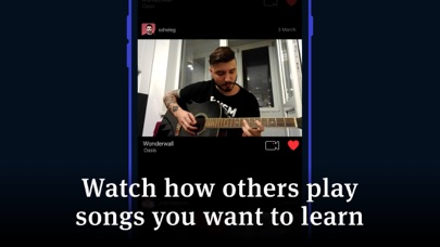 Tabs & Chords - learn and play app image