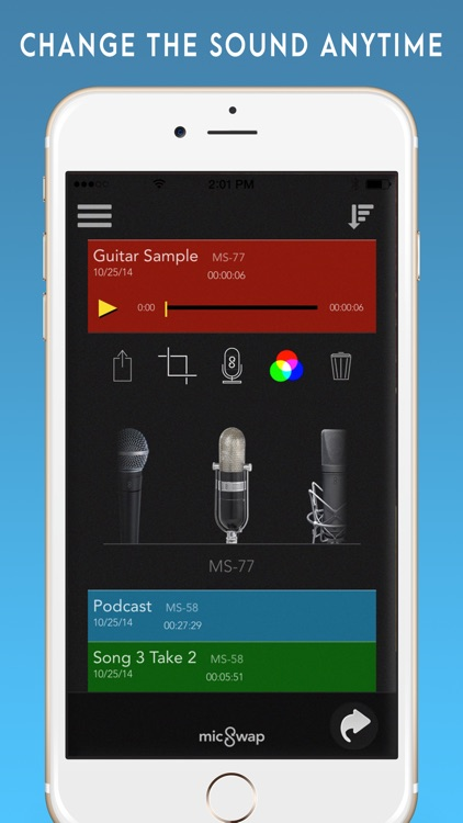 MicSwap: Mic Modeler, Recorder screenshot-3