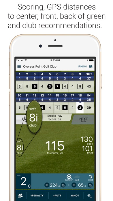 Golf Pad: Free Golf GPS