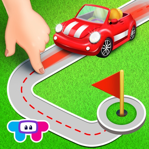 Tiny Roads Car Puzzles icon