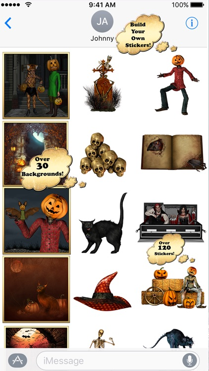 Trick or Treat? Sticker Pack