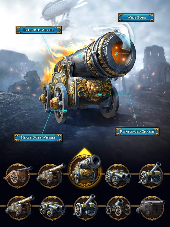 Guns of Glory: Conquer Empires screenshot #4