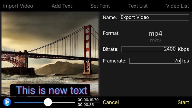 Video Subtitle Edit Lite - Video Text Editor screenshot-4