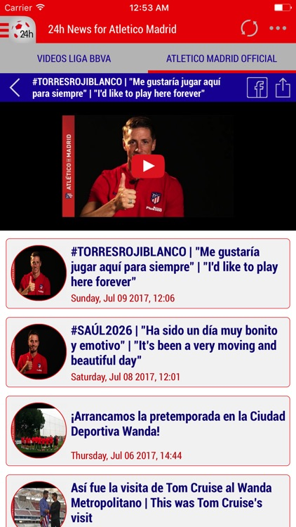 24h News for Atlético Madrid screenshot-4