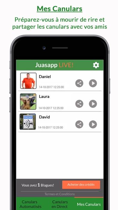Télécharger Juasapp Live - Canulars pour Pc