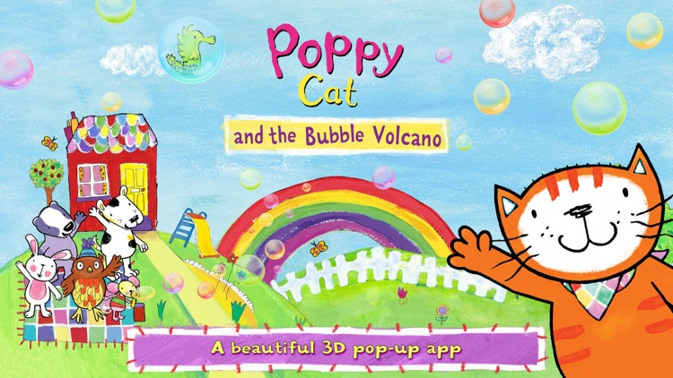 Poppy Cat & the Bubble Volcano