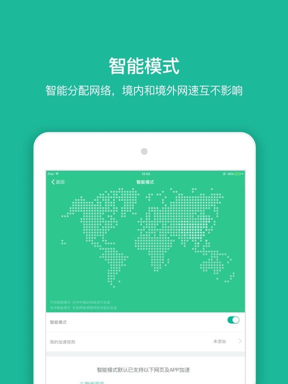 快帆-中国华人加速国内的VPN-ipad-1