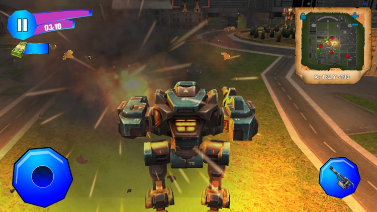 Metal Wars: Robot Fight Action screenshot-3