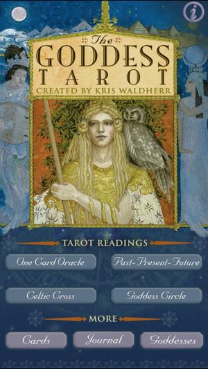 Goddess Tarot Decks: Full Version On The App Store