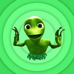 Green Alien Dame Tu Cosita