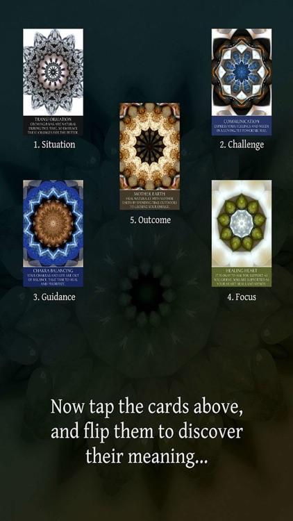Intuitive Mandala Oracle Cards screenshot-4
