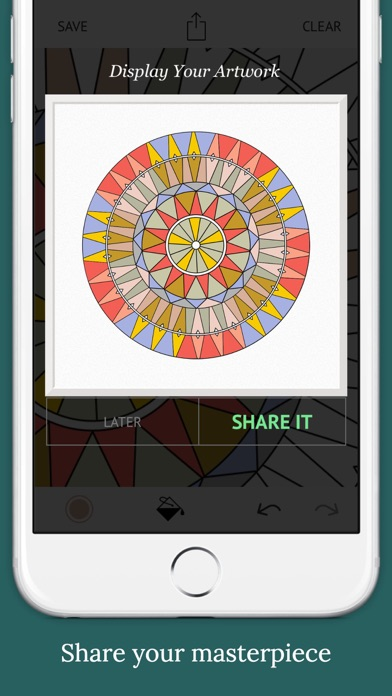 download World Mandalas:  Colouring for Mindfulness apps 2