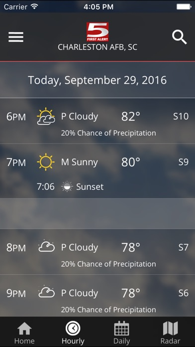 WCSC Live 5 Weather for Windows