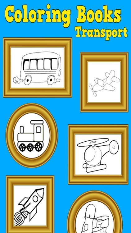 Coloring Books, Transport screenshot-4