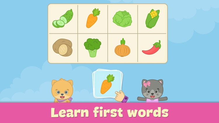 Baby flash cards for toddlers screenshot-0