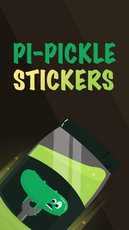 Pi Pickle Stickers
