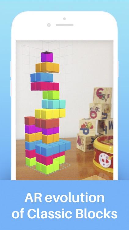 Tetroids AR Puzzle Game screenshot-0