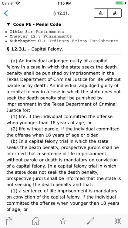 Ohio Revised Code, OH Laws ORC screenshot-6
