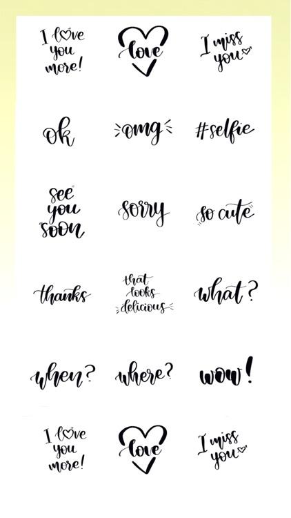 Emoji Calligraphy screenshot-3