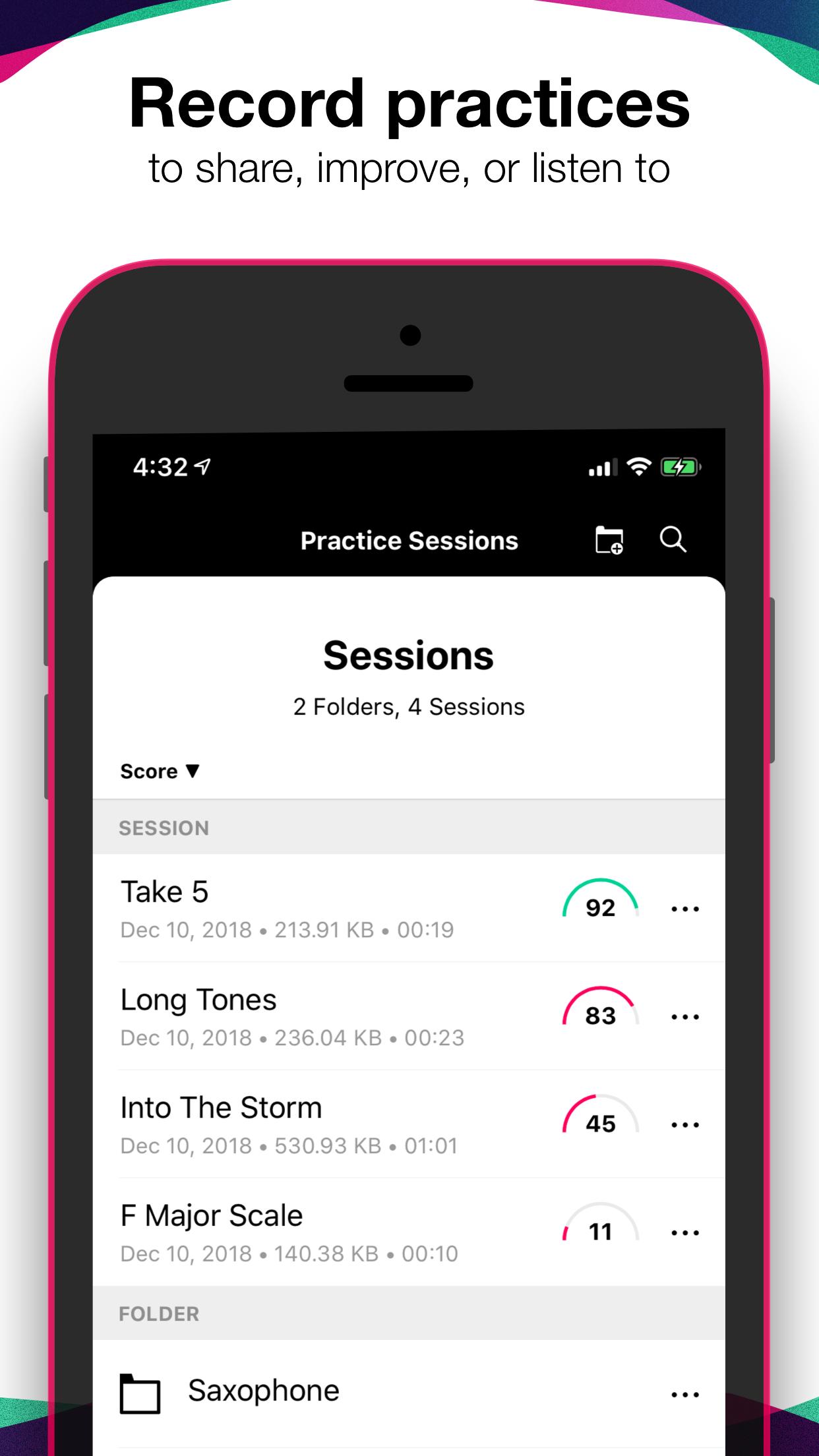 Tunable - Music Practice Tools Screenshot