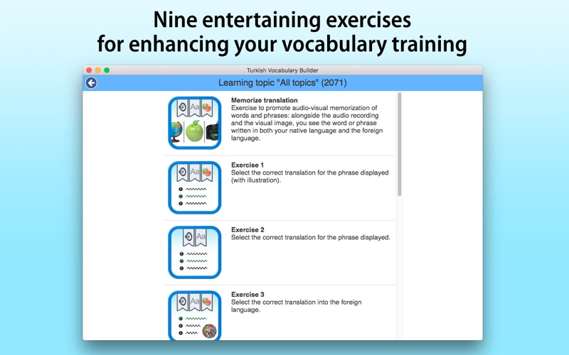 Turkish Vocabulary Builder screenshot 4