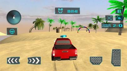 ビーチトラック水サーフィン - 3D楽しむドライブシムのおすすめ画像1