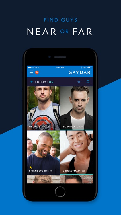 Gaydar - Gay Dating and Chat.