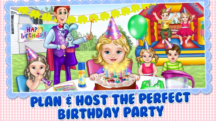 Baby Birthday Planner Screenshot
