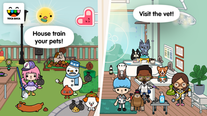 download Toca Life: Pets apps 3