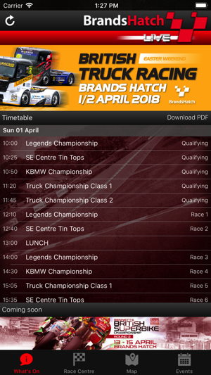 Brands Hatch LIVE! on the App Store