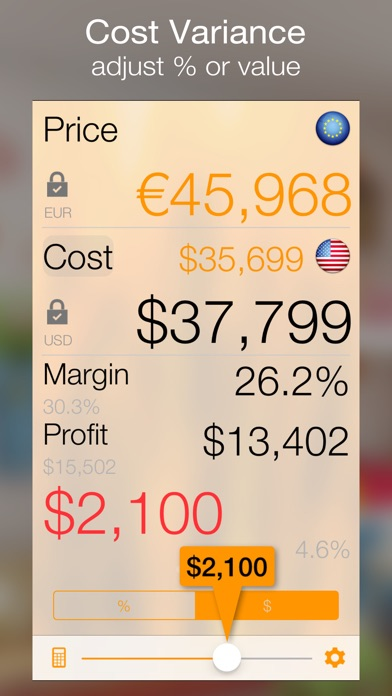 Margin review screenshots