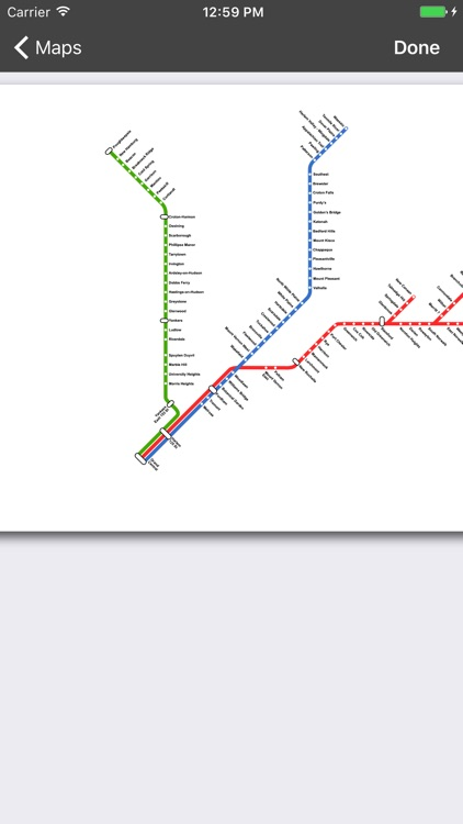 onTime : MNR - MetroNorth Rail screenshot-3