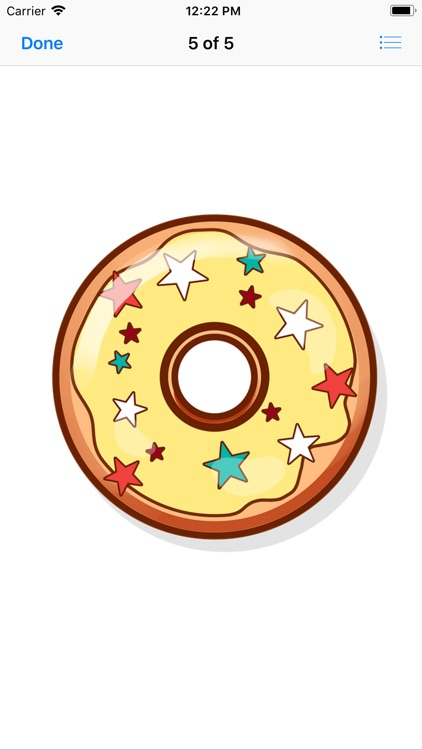 Decadent Donut Stickers screenshot-6