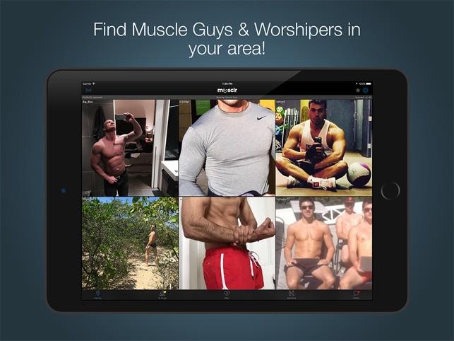 Schwuler Bodybuilder Dating-App