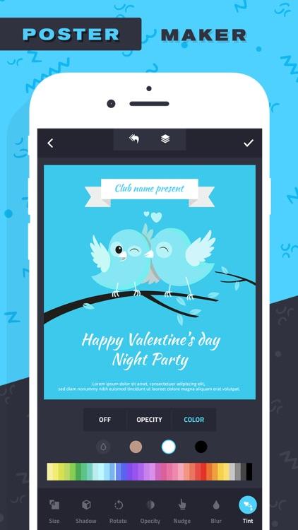 Poster Maker–Add Text to photo screenshot-3