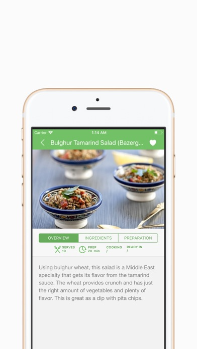 Screenshot for Sarina's Sephardic Cuisine in Ukraine App Store