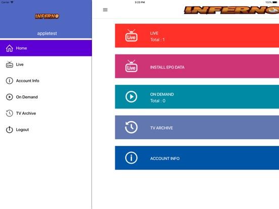 INFERNO - IPTV | Apps | 148Apps