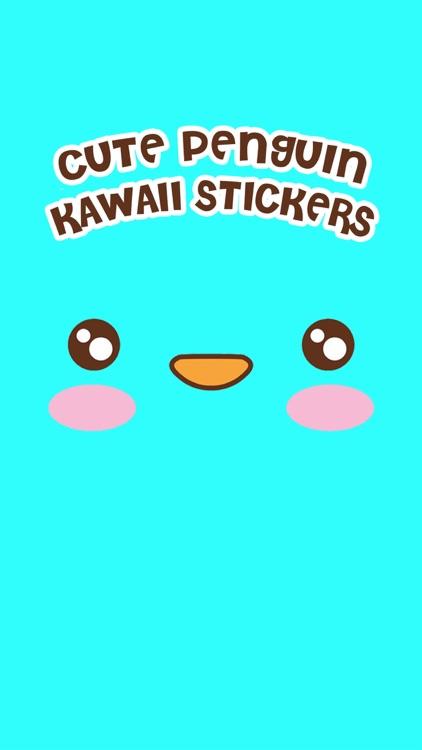 Cute Penguin Kawaii Stickers