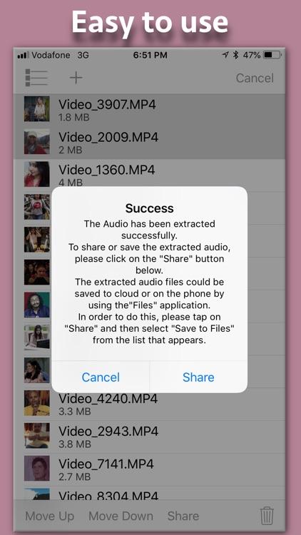 Video to Audio Extractor screenshot-3