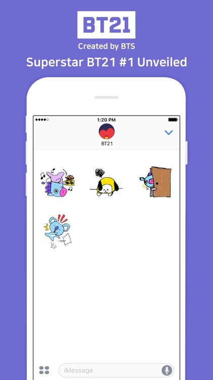 Superstar BT21 #1 Unveiled