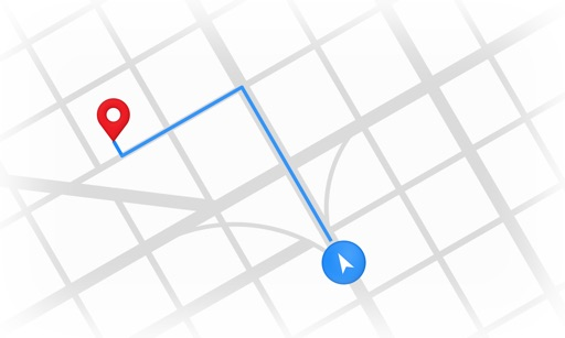 Locate places near me with Google Maps icon