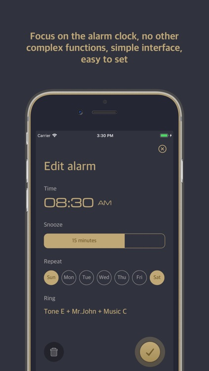 Relax Alarm-Voice time clock