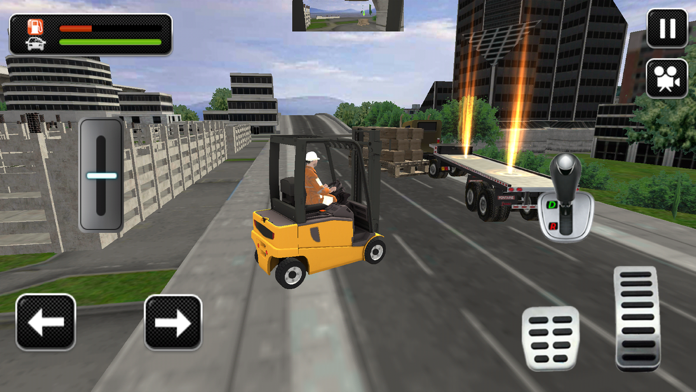 Road Truck Simulator 3D Games Screenshot
