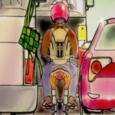 Activities of Mudik Driving