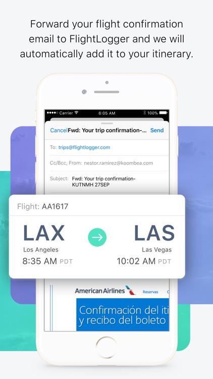 FlightLogger - Flight Tracker screenshot-4