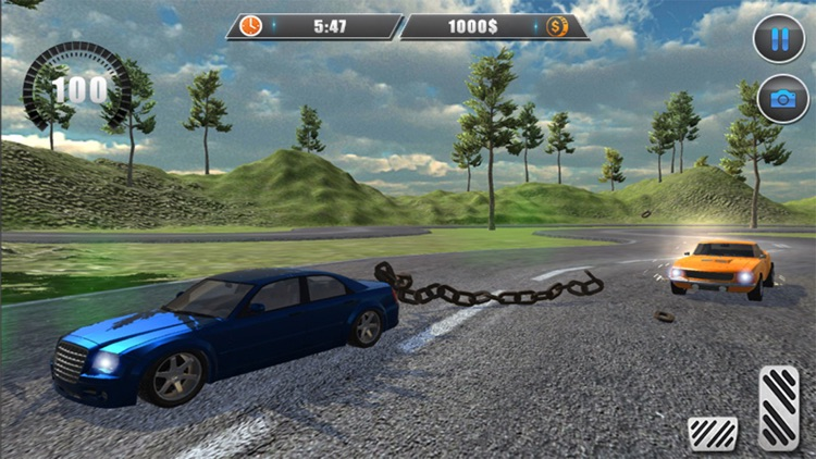 Chained Car Racing 3D Games screenshot-3