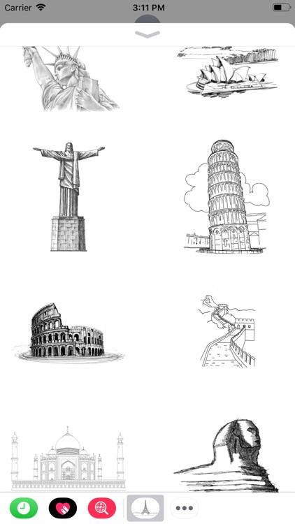 Sketchy Destinations
