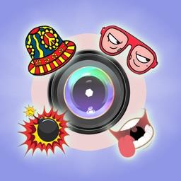 Funny Stickers Camera 360 + 2
